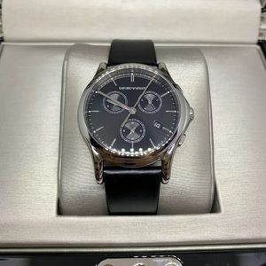 Emporio Armani Swiss Made Black Dial ARS 6001